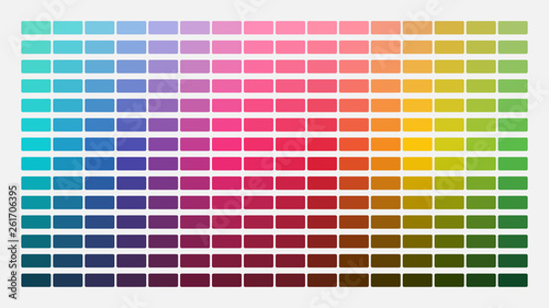 Leinwand Poster Color palette
