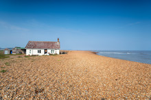 Shingle Street In Suffolk