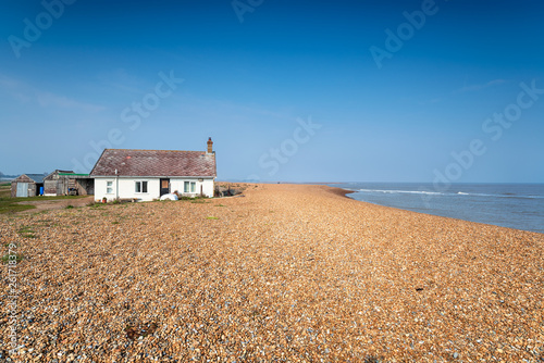 Shingle Street in Suffolk Canvas Print