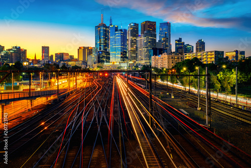 Melbourne train staation