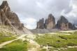Natural park Tre Cime di Lavaredo, alps, dolomites, Italy
