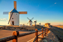 Spanish Windmills And Medieval...