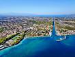 Griechenland aus der Luft - Korinth Kanal, Strände und mehr