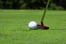 Golf, Pallina, Buca, Putt, Putter, Traguardo, Sfida