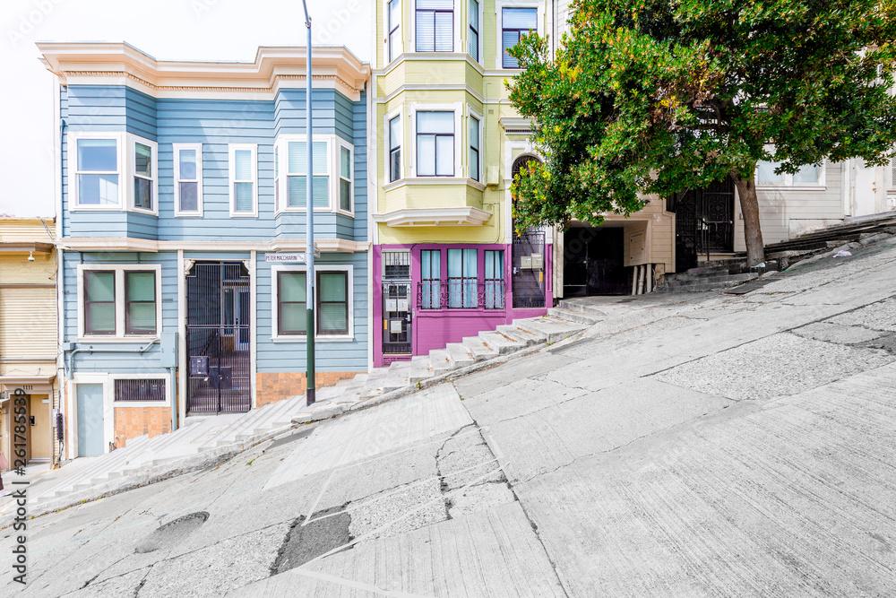 San Francisco urban scene, California, USA
