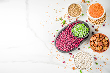 Set Of Different Legumes