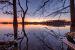 Bevertalsperre Sonnenuntergang