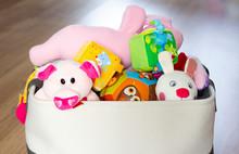 Toy Box Full Of Soft Toys