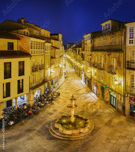 Praza do Ferro square in Ourense