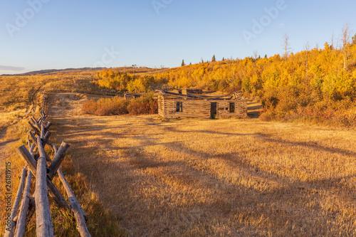 Poster Cappuccino Scenic Teton Autumn Landscape