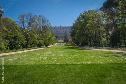 Aluminium Prints Garden Campo del Moro (Palacio Real de Madrid)