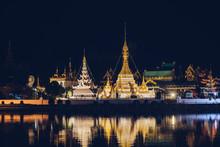 Mae Hong Son's Wat Chong Kham