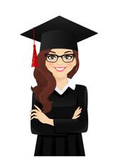 Portrait Of Student Girl