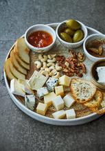 White Wine Appetizer Platter
