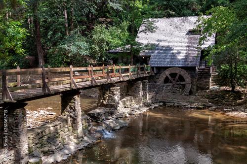 Vászonkép Old Grist Mill