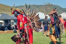 Native American Male Dancers A...