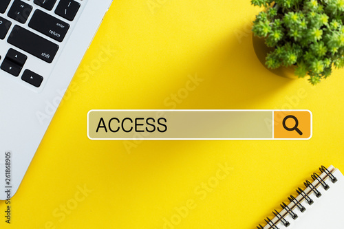 Access Concept For Business Wallpaper Mural