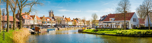 Historic town of Sluis, Zeelandic Flanders region, Netherlands
