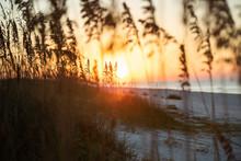 Romantic   Sunset At Gulf Shor...