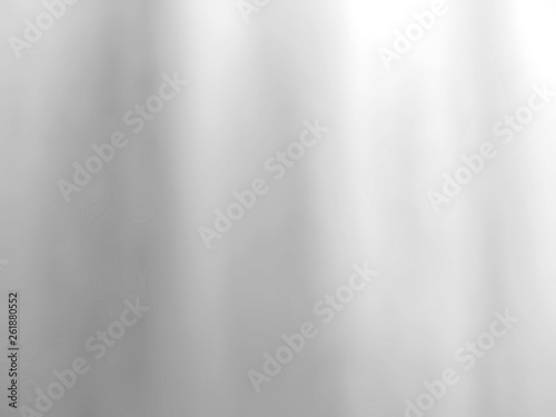 Poster de jardin Metal Abstract silver background for web design templates, christmas, valentine, product studio room and business report with smooth gradient color. Silver foil texture background.