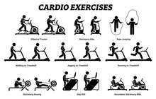 Cardio Exercises And Fitness T...