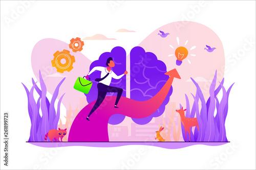 wyobraznia-i-wizja-kreatywne-myslenie-pomysly-i-fantazja-motywacja-i-inspiracja-wektor-ilustracja-koncepcja-na-bialym-tle-z-malutkimi-ludzmi-i-kwiatowymi-elementami-obraz-bohatera-na-stronie-internetowej