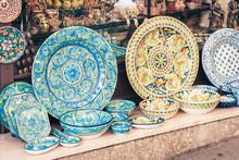 Decorative Plates In The Souve...