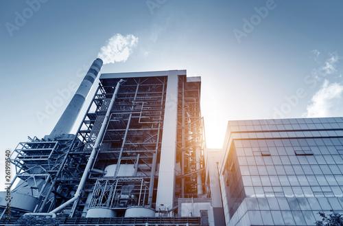 Valokuva  Thermal power plant