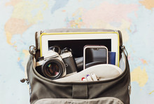 Accessories For Travel. Camera...