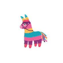 Mexican Pinata Isolated