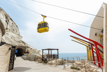 Cable Road At Rosh Hanikra Tou...