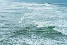 California Coast Line With The...