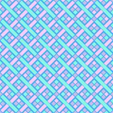 Seamless Neon Weave Pattern