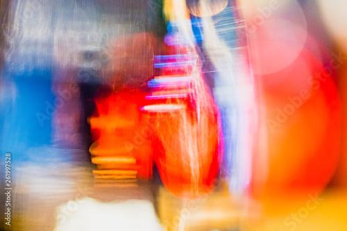 Fotografie, Obraz  Arrière plan abstrait coloré
