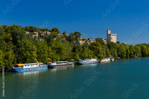 Tower Philippe in Avignon - Provence France Canvas Print