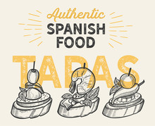 Spanish Illustrations - Tapas ...