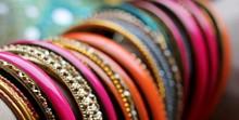 Indian Bracelets On Beautiful ...