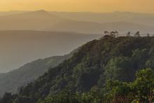Landscape Mountain View Sunris...