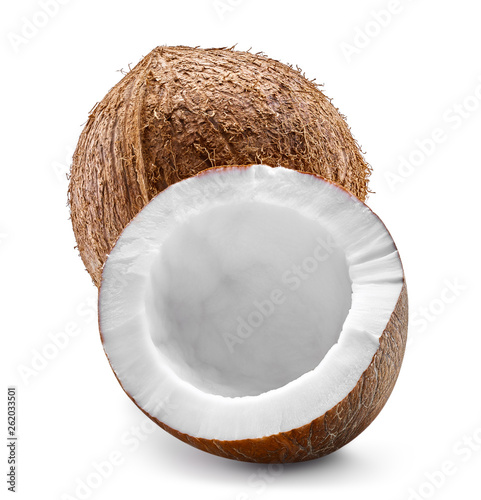 Stickers pour porte Pierre, Sable Coconut isolated Clipping Path