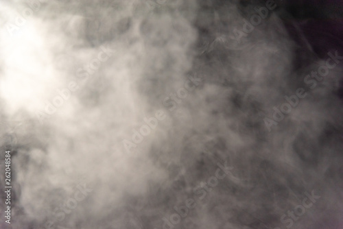 Photo sur Toile Les Textures Smoke image in a black background