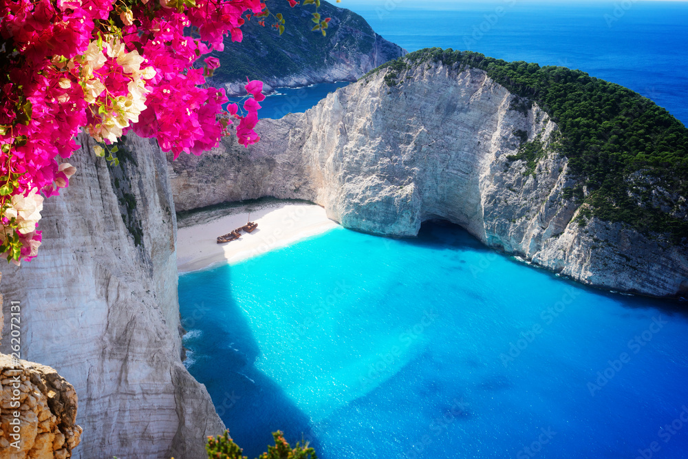 Fototapeta Beautiful lanscape of Zakinthos island