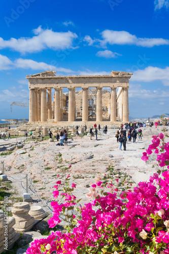Printed kitchen splashbacks Athens Parthenon temple, Athens