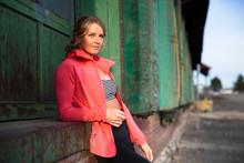 Portrait Of Athlete Woman, Spokane, Washington, USA