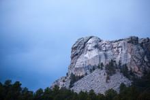 Mount Rushmore At Black Hills, South Dakota, USA