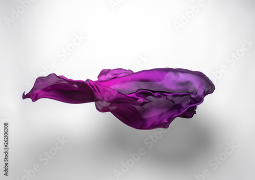 Fotografía  abstract flying fabric