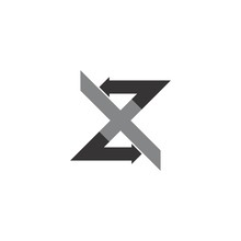 XZ Letter With Back And Forth ...