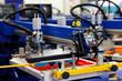 automatic t-shirt screen printing rotary machine