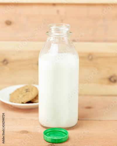 Fotografia, Obraz  Milk and Cookies Vertical