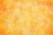 canvas print picture - 水彩 テクスチャ 春 オレンジ 背景