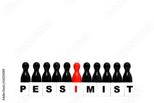 Pessimist Canvas Print